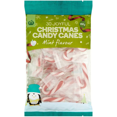 Candy Canes Peppermint 30 pack