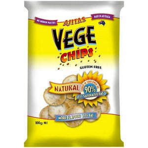 Vege Chips - Original Natural - **Gluten Free** 100g
