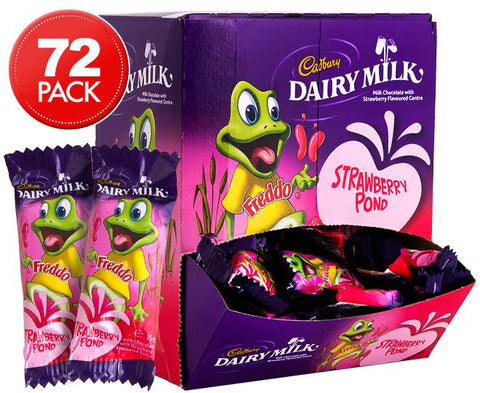 Cadbury Freddo Frog Strawberry - 72 Pack (individually wrapped)