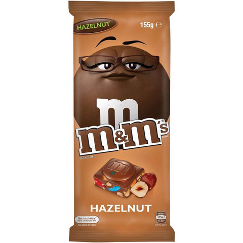 M&M's Hazelnut Chocolate Block 155g