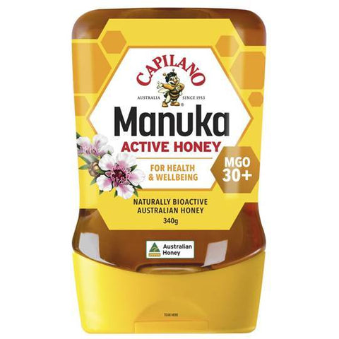 Capilano Manuka Honey MGO 30+ 340g