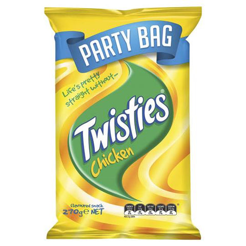 Twisties Chicken Party Bag 270g