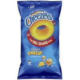 Cheezels - The Big Share Bag x 5 (Bulk Value Box)