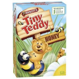Arnotts Tiny Teddy Biscuits Honey