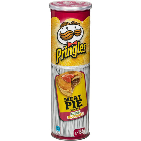 Pringles Chips - MEAT PIE FLAVOUR - 134g