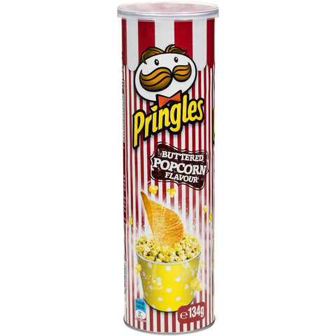 Pringles Chips - BUTTER POPCORN FLAVOUR - 134g