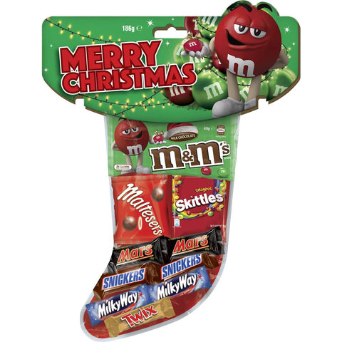 Mars Mixed Christmas Stocking 186g