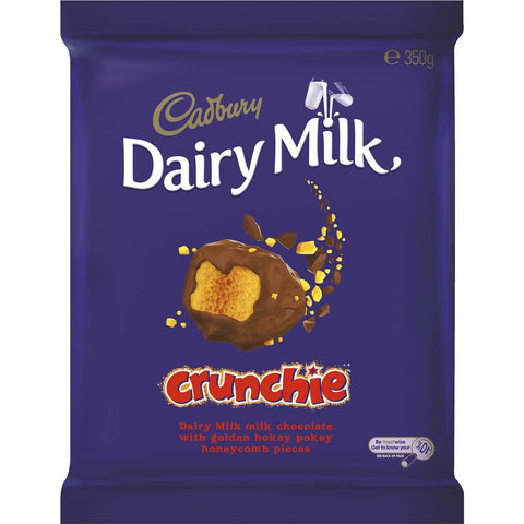 Cadbury Block Crunchie 350g