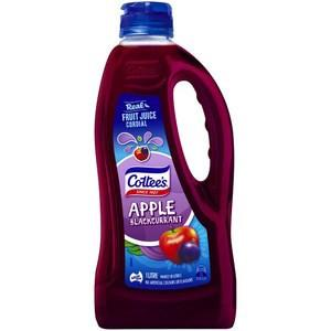 Cottee's Apple & Blackcurrant Cordial   1L