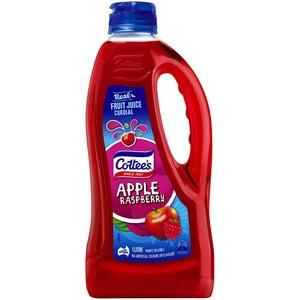 Cottee's Apple & Raspberry Cordial   1L