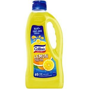 Cottee's Lemon Cordial 1L