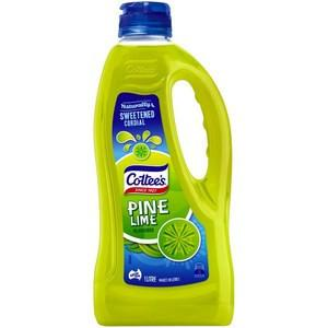 Cottee's Pine Lime Cordial 1L