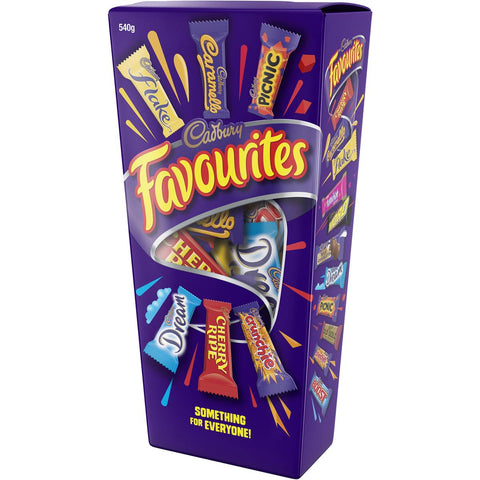 Cadbury Favourites 540g Gift Box