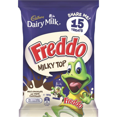 Cadbury Freddo 'Milky Top' Share Pack 180g