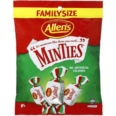 Allens Minties Family Size 370g