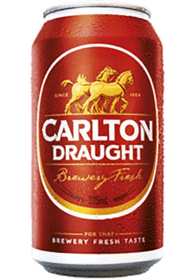 Carlton Draught Can 375ml The Australian Food Shop