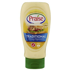 Praise Traditional Mayonnaise 365g