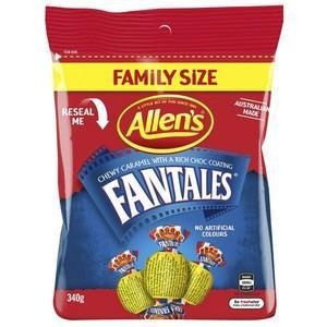 Allens Fantales 340g x 5 (Bulk Value Box)