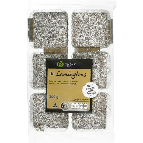 Lamington 6 Pack 300g