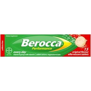 Berocca Performance Original Effervescent Tablets 15 pack