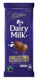 Cadbury Block Dairy Milk Chocolate