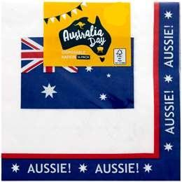Australia Day Disposable Napkins 16pk