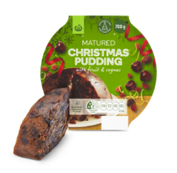 Christmas Pudding (Matured) Fruit & Cognac 700g