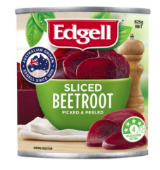 Edgell Beetroot Sliced 825g