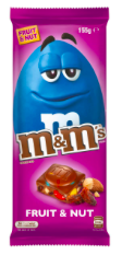 M&M's Fruit & Nut Block 155g