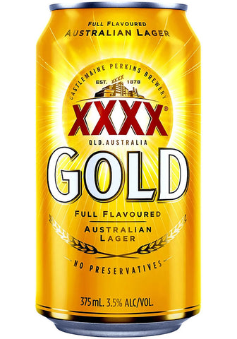 XXXX Gold Can 375mL
