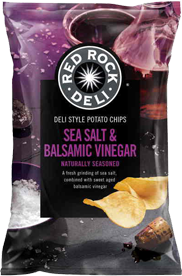 Red Rock Deli Sea Salt & Balsamic Vingar 165g