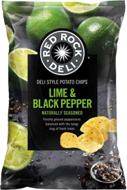 Red Rock Deli Lime & Black Pepper 165g