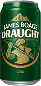 James Boag's Draught Can 375mL