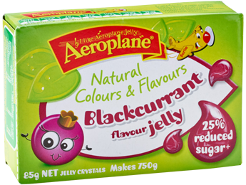 Aeroplane Jelly Blackcurrant (Natural Colours & Flavours)