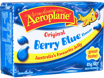 Aeroplane Jelly Berry Blue