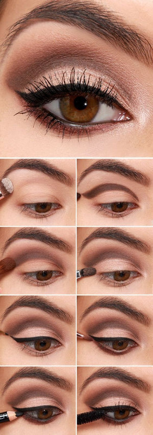 32 Easy Step by Step Eye shadow Tutorials for Beginners