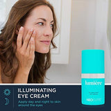 NEOCUTIS Lumière Illuminating Eye Cream | 5 Month Supply | Under Eye cream for anti-aging | Minimizes under eye darkness & reduces puffiness | Boosts Collagen for brighter, younger-looking eyes - Family Deals