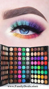 Brilliant Huge Selection Multi-Color Eyeshadow Palette - Family Deals