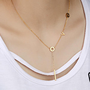 Genuine Leather Choker Necklace With Gold / Silver Round Pendant Collar