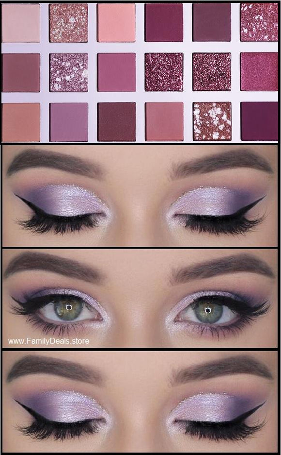 Pastel Purple Eyeshadow Palette - Family Deals