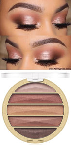 Rosy Eyes Pink Glitter Eyeshadow