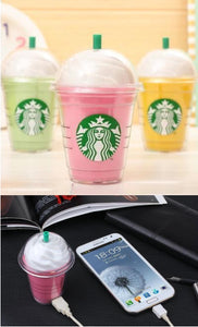 USB Phone Charger / Power Bank 5200MAh Coffee Cup Edition