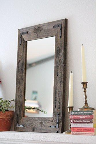 Family Deals 18x24 Reclaimed Wood Framed Mirror
