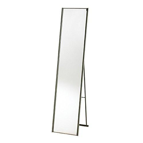 Family Deals Adesso WK2444-22 Alice Floor Mirror, Steel