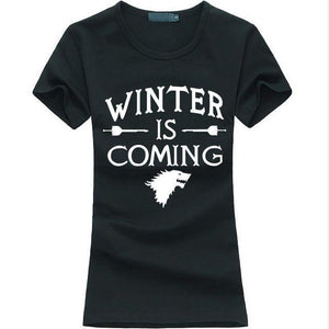 "Family Deals clothing Game of Thrones ""Winter Is Coming"" T-Shirts - Many colors"