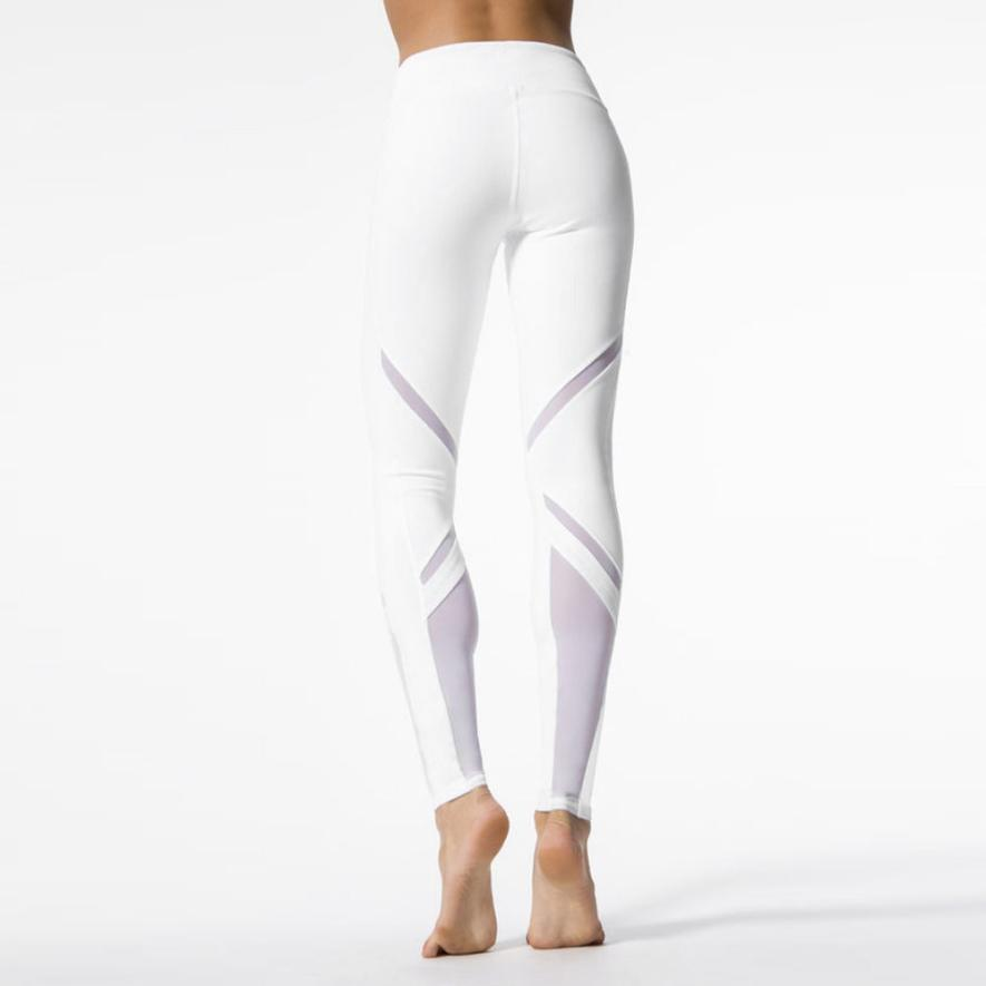 Fierce White High Waisted Womens Lace Leggings Trendy And High Qual Family Deals