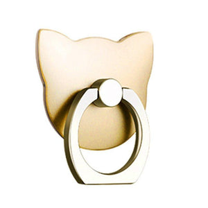 Family Deals Iphone Cases iRing Kitty - Universal Phone Finger Ring Holder and Stand
