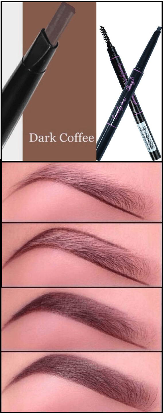 Family Deals Make up Eyebrow Pencil With Brush - Essential MakeUp Tools