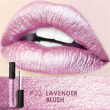 Family Deals Make up Lavender Blush Exquisite, Long-lasting Matte & Glitter liquid lipstick with a luxurious hue.