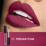 Family Deals Make up Persian Plum Exquisite, Long-lasting Matte & Glitter liquid lipstick with a luxurious hue.